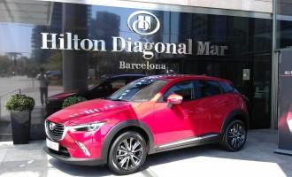 Auto magazin na evropskoj prezentaciji Mazde CX-3 u Barceloni