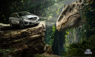 """Mercedesi"" zvezde filma Jurassic World"