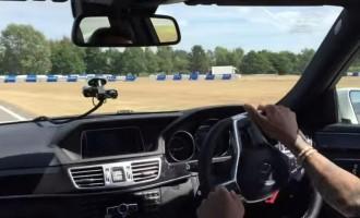Spaljivanje guma sa Lewis Hamiltonom