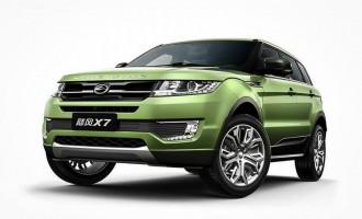 Landwind X7 do detalja iskopiran Range Rover Evoque