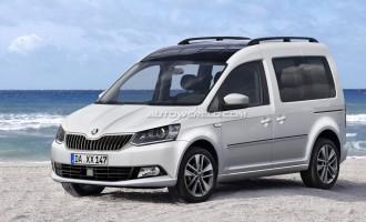 Nova Škoda Roomster će biti prepakovan VW Caddy