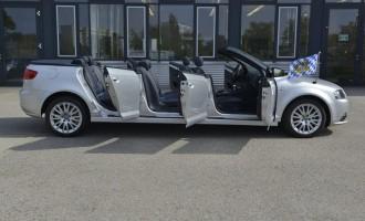 Audi A3 kabriolet sa šestoro vrata