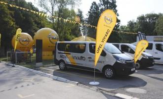 Karavan Opel komercijalnih vozila krenuo kroz Srbiju