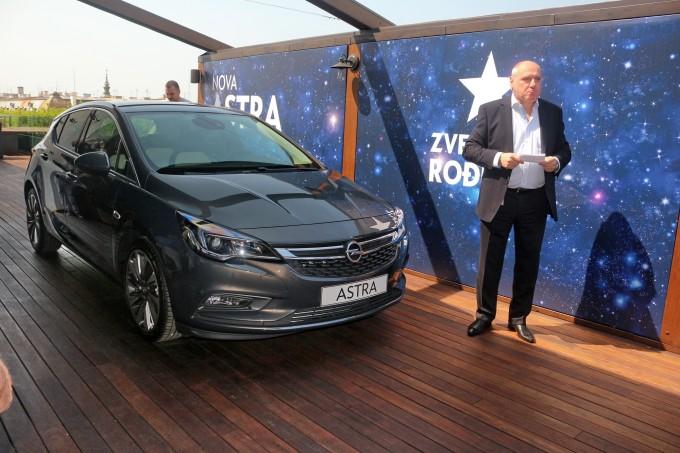Auto magazin opel astra premijera u beogradu 2015
