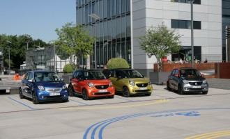 Vozili smo: Smart fortwo i forfour DCT