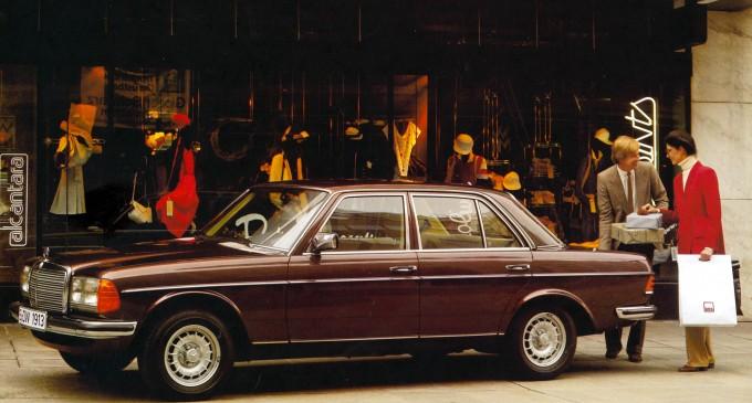 Mercedes W123 slavi 40 godina
