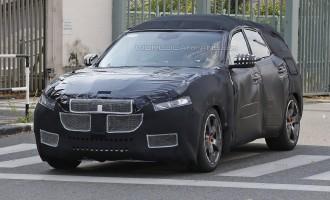 Uslikan prototip Maseratija Levante