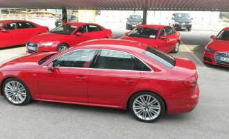 Ekskluzivno: Auto magazin na promociji Audija A4
