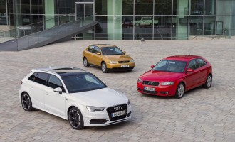 Audi A3 slavi 20 godina proizvodnje