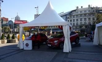 Modeli Fiata na manifestaciji Buongiorno Italia u Beogradu