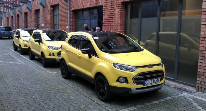 Auto magazin na promociji Forda Ecosport