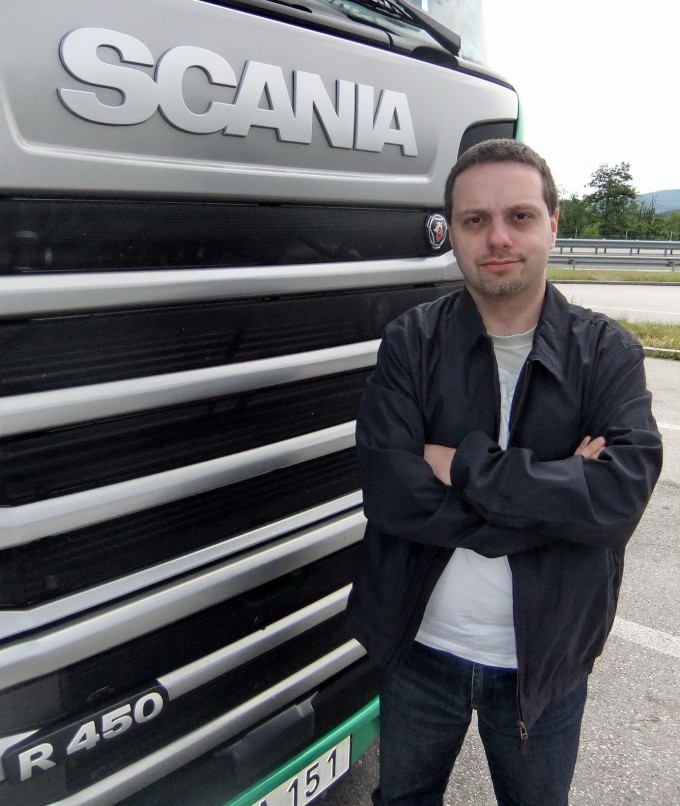 Auto magazin scania r450 4x2 test