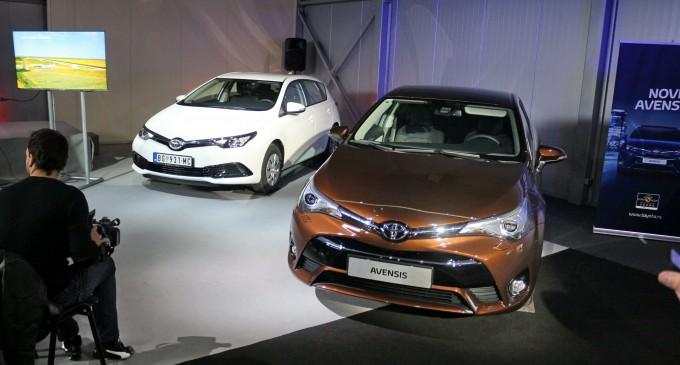 Počela prodaja Toyote Auris i Avensis