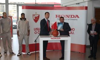 Honda uz KK Crvena Zvezda