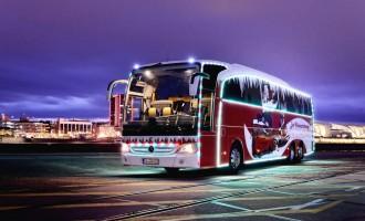 Božićna kočija: Mercedes-Benz Travego