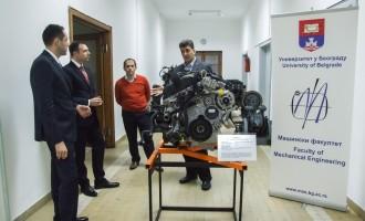 Delta Motors donirala BMW motor Mašinskom fakultetu