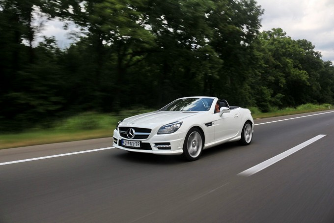 Auto magazin mercedes slk 200 test