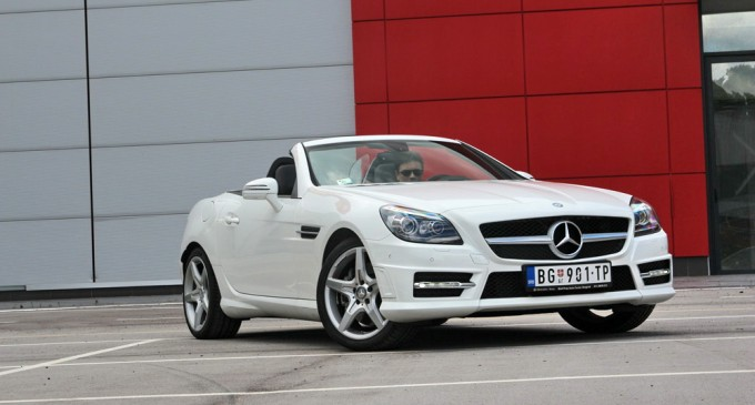 ExpressTest: Mercedes SLK 200