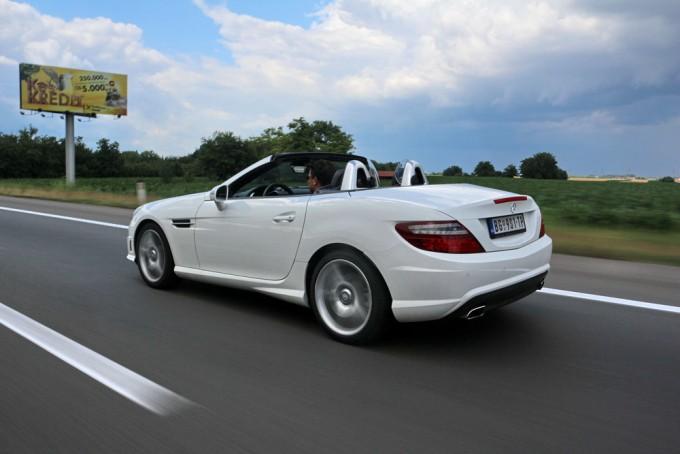 Auto magazin mercedes slk 200 test