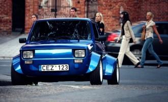 Raketa: Fiat 126p sa Hondinim VTEC turbo motorom