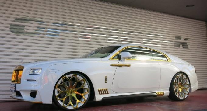 Kič i elegancija: Rolls-Royce Wraith by Office-K