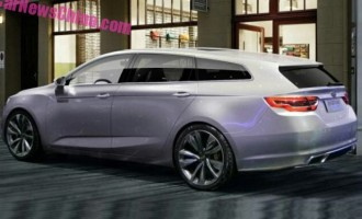 Pretpremijera: Geely station wagon concept