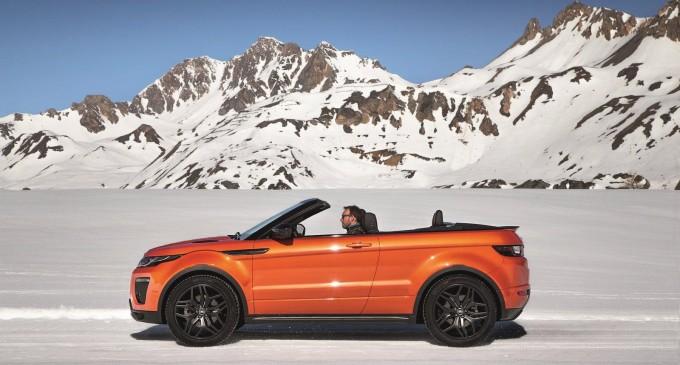 Kabrioletom na skijanje: Range Rover Evoque Convertible