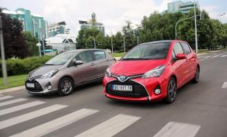 Uporedni test: Toyota Yaris hybrid & 1,33 VVTi