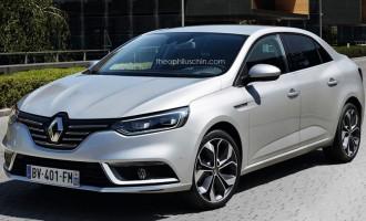 Renault Mégane sedan potvrđen za 2016.