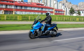 Moto test: BMW C 600 Sport