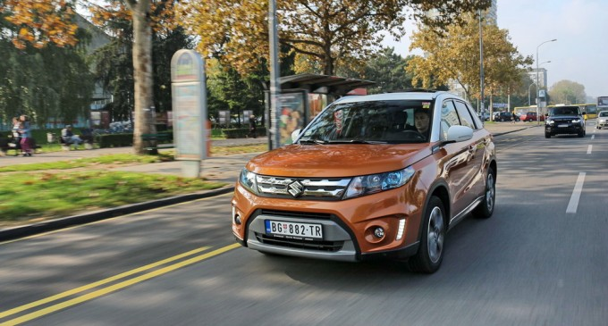 Test: Suzuki Vitara 1,6 GLX 4WD So Color