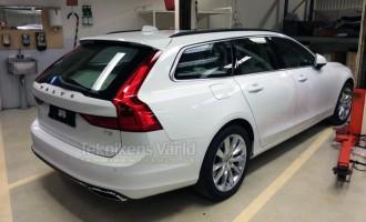 Volvo V90 prvi put uslikan bez kamuflaže