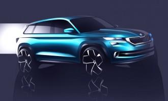 Zagrevanje pred Ženevu: Škoda VisionS