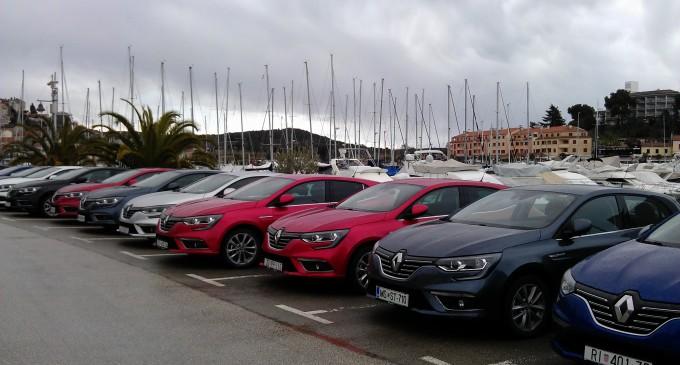 Auto magazin na prezentaciji Renault Megana IV u Istri