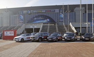 Kia uručila vozila za turnir UEFA Futsal EURO Serbia 2016