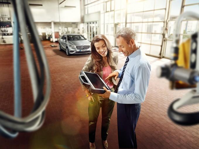 Auto magazin mercedes servis prolećna akcija