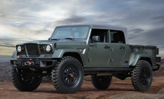 Jeep Crew Chief concept najavljuje novi pickup