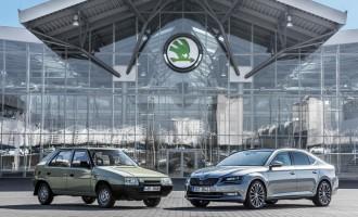 Škoda slavi 25 godina pod okriljem VW koncerna