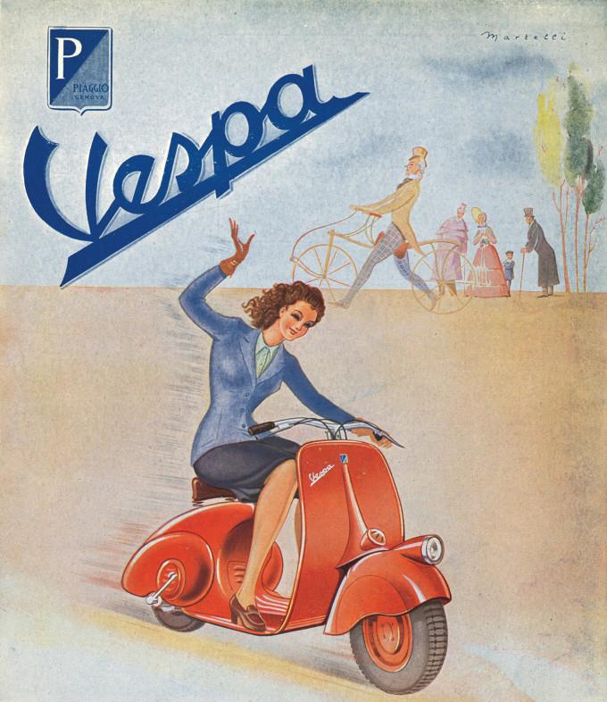 Auto magazin jubileji istorija 70 godina vespe