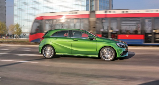 Test: Mercedes A180 AMG pack