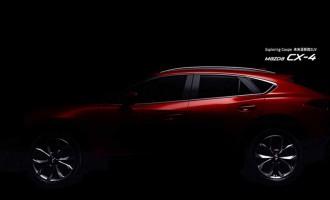 Mazda CX-4: otkrivanje deo po deo