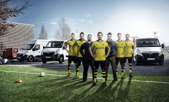 Movano, Vivaro i Combo partneri u treningu Dortmunda