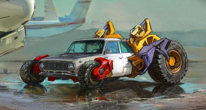 Ovo su sovjetski postapokaliptični automobili