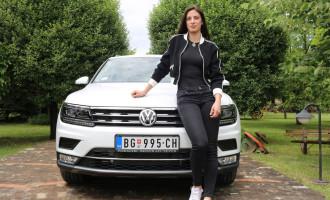 Ivana Španović promoterka novog VW Tiguana