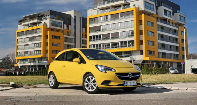Test: Opel Corsa Color Edition 1.4 Turbo ecoFLEX