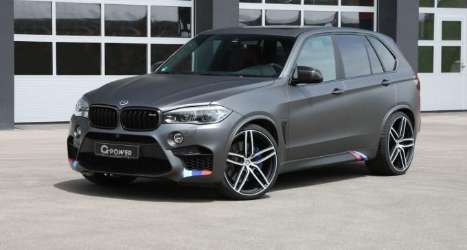 BMW X5 M by G-POWER tjuniran na 750 KS!