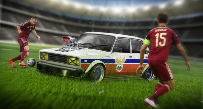Auto maskote fudbalskih reprezentacija na Euro 2016.