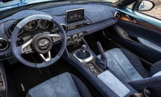 Mazda MX-5 presvučena džinsom