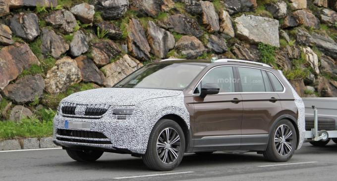 VW Tiguan sa Škodinom maskom je verovatno novi Yeti