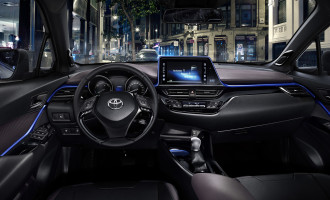 Zvanično otkrivena unutrašnjost Toyote C-HR